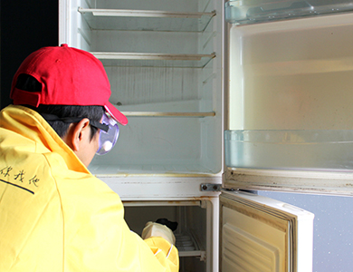 家电清洗技术:家电清洗实用技巧之冰箱